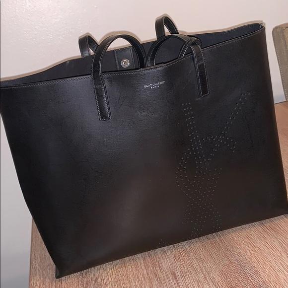 9188d61b4a2 Yves Saint Laurent Bags | Ysl Black Tote Used | Poshmark